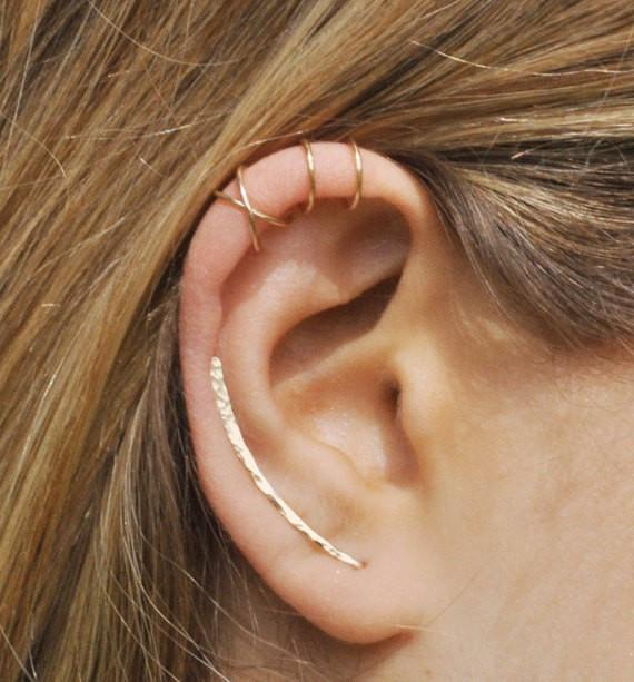Penelope Wired Ear Cuff & Climber