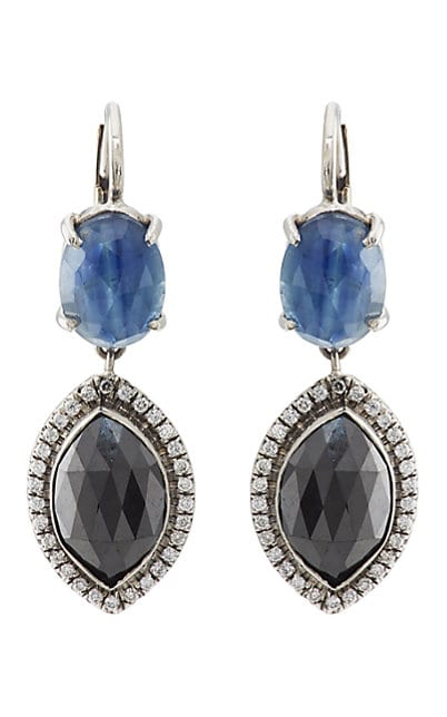 Zoe Mixed-Gemstone Drop Earrings
