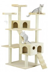 Go Pet Club Cat Tree - Beige