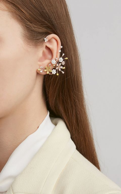 David Morris Cherry Blossom Earrings
